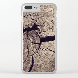 Cracks in Time - Photography #Society6 Clear iPhone Case