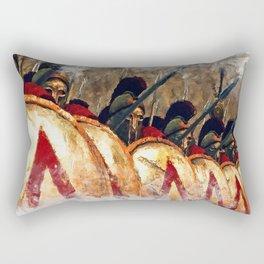 Spartan Army at War Rectangular Pillow