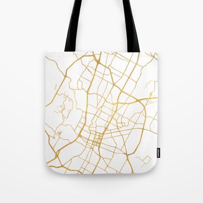AUSTIN TEXAS CITY STREET MAP ART Tote Bag