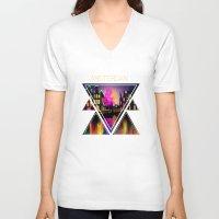 amsterdam V-neck T-shirts featuring Amsterdam  by mark ashkenazi