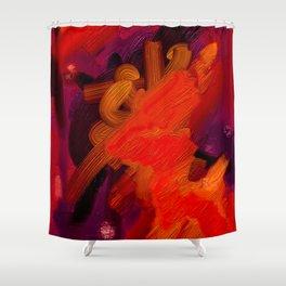 Rage Shower Curtain