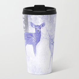 Winter Fawns Travel Mug