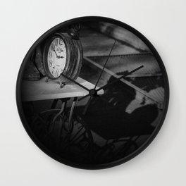 Still life with clock Wall Clock