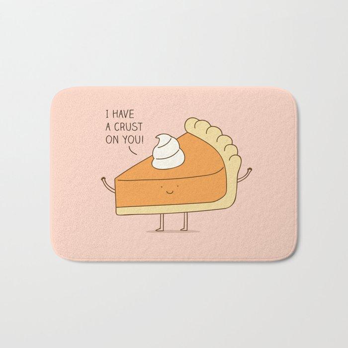 A pie's crush Bath Mat