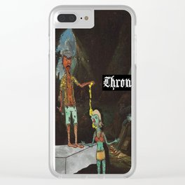 Throne of Hell Clear iPhone Case