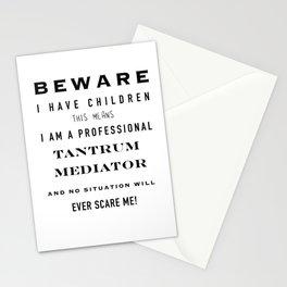 Tantrum mediator Stationery Cards