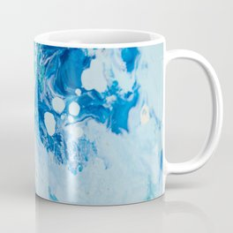 Liquid Blues and Greens Coffee Mug