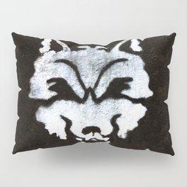 Street Art- Lonely Wolf Graffiti Pillow Sham