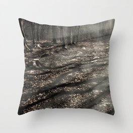 Blair Witch....over there! Throw Pillow