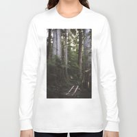giants Long Sleeve T-shirts featuring Among Giants by Frances Dierken