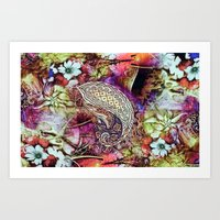 india Art Prints featuring india by ensemble creative