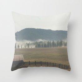 Eastern Washington Throw Pillow