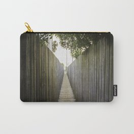 Wooden Walk Carry-All Pouch
