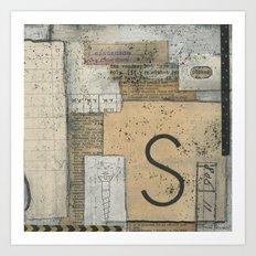 Ask-Seek-Knock Art Print
