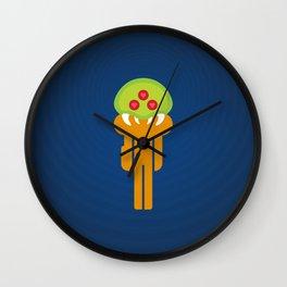 Metroid Loves Samus Wall Clock