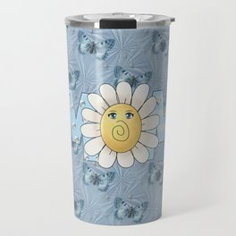Dreamy Butterflies Roses and Mom Travel Mug