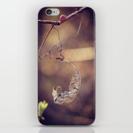 Holding On iPhone Skin