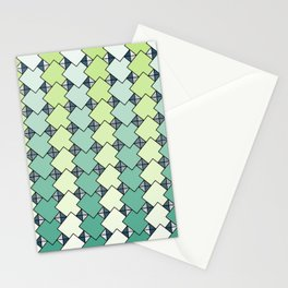 Tile Stacks Stationery Cards