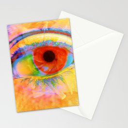 Eye In Bloom Stationery Cards