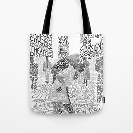Times Square, August 14th 1945 Tote Bag