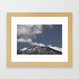 Winter in the San Gabriel Mountains Framed Art Print