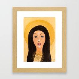 Goddess no 15 Framed Art Print
