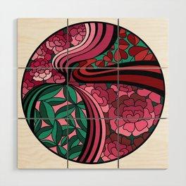 Floral Unity Wood Wall Art