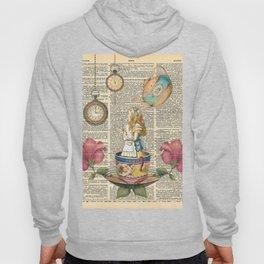 It's Always Tea Time - Alice In Wonderland Hoody