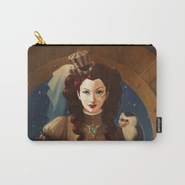 """Capuchin"" Steampunk Pin-Up Carry-All Pouch"