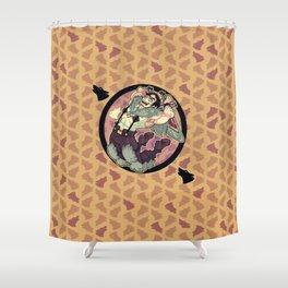 Beowulf Shower Curtain