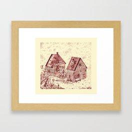 Open House Framed Art Print