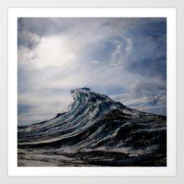WAVE # 1 - sky Art Print