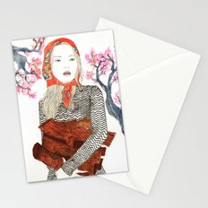Country Girl Stationery Cards