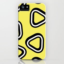 Soft Triangle iPhone Case