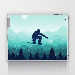 Snowboard Skyline II Laptop & iPad Skin