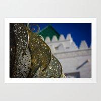 Morocco Mohammed Art Print