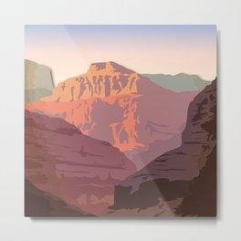 Night Mountains No. 56 Metal Print