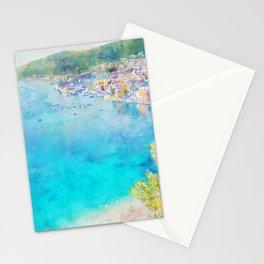 Côte d'Azur, Villefranche-sur-Mer, France, by Jennifer Berdy Stationery Cards
