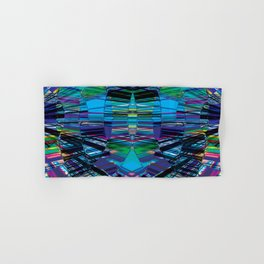 Cyber dimension Hand & Bath Towel
