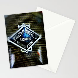 Train Grill Stationery Cards