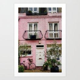 Notting Hill, London England Art Print