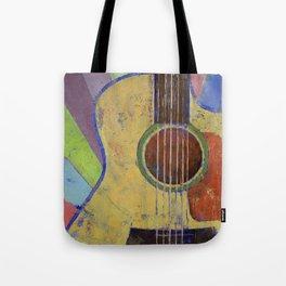 Sunrise Guitar Tote Bag