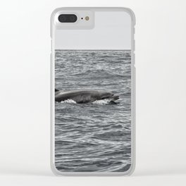 Dolphin fin Clear iPhone Case