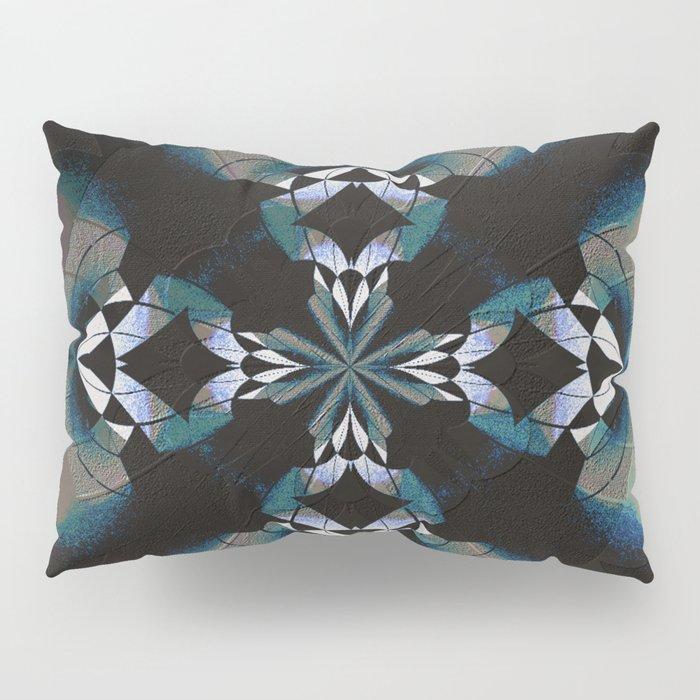 Healing Earth Mandala Pillow Sham