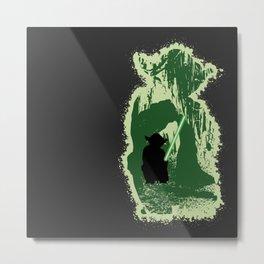 Yoda's Swamp Metal Print
