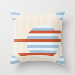 Beach Orbs Throw Pillow