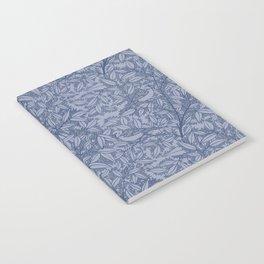 Blue Sparrow Notebook