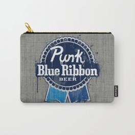 Punk Blue Ribbon Beer Carry-All Pouch