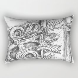 batalha stone detail Rectangular Pillow