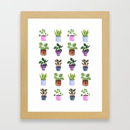 Houseplants 2.0 Framed Art Print